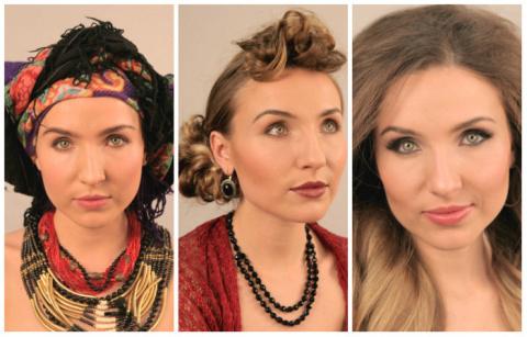 Эволюция красоты в Украине за последние 100 лет