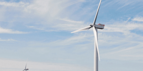 Siemens представила новую платформу ветряных турбин 10MW +