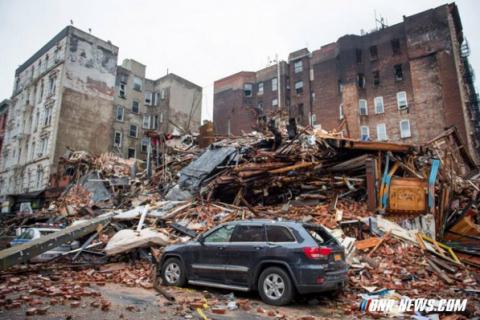 Причиной взрыва двух зданий в Нью-Йорке стала попытка воровать газ выходцами с Украины