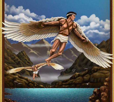 Историко-исследовательская работа: «Как зарождалась идея полета человека»