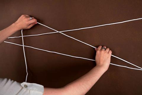 Великолепные идеи декора из веревки и каната