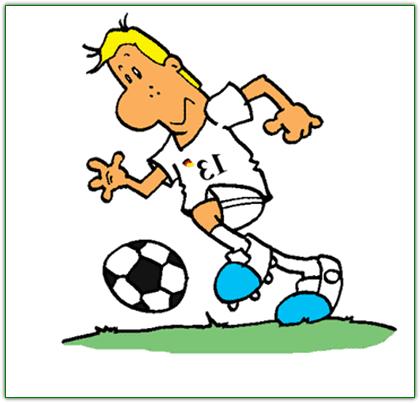 Шуточный тест к 23 февраля на тему футбола