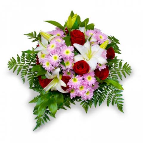 Я Вам дарю букет цветов...