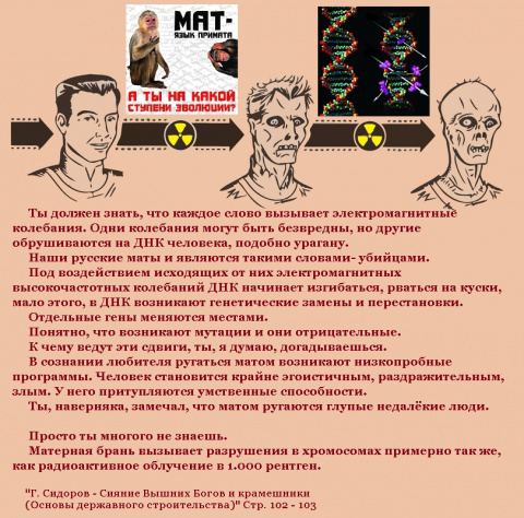 РУССКИЙ МАТ КАК МАНТРА ПЕРЕКОДИРОВКИ