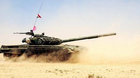 Сирийская армия взяла штурмом укрепления террористов