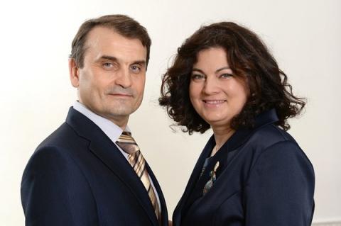 Юра и Лена Мандрощенко
