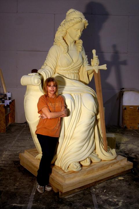 Потрясающие скульптурные работы