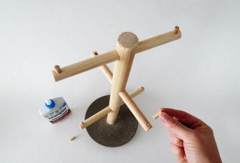 Как сделать деревянную подст…