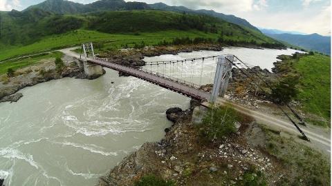 Горный Алтай. Ороктойский мост