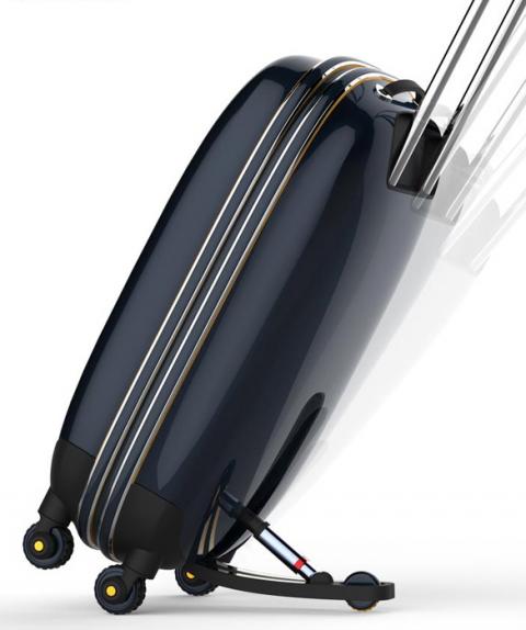 Пятое колесо для чемодана