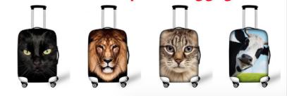 10 дизайнерских чехлов для защиты и украшения чемоданов