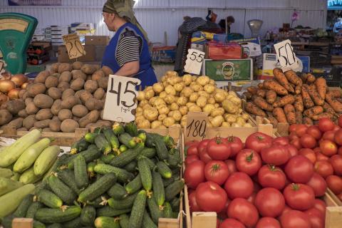 Цены на продукты в Крыму...