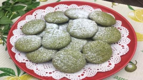 Очень вкусное мятное печенье