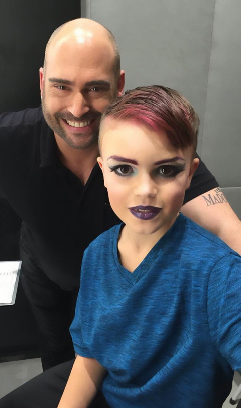 8-Year-Old Boy Wanted To Learn Makeup And His Mom Bought Him A Lesson