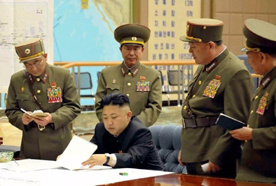 Товарищ Ким озаботился защит…