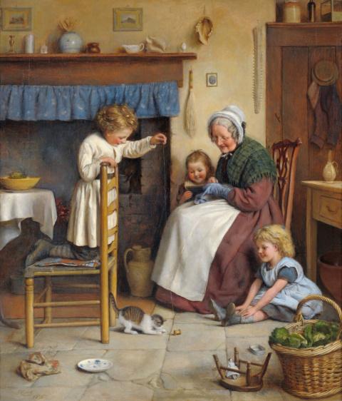 Наглая бабушка просит денег …
