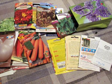 Семена: как не нарваться на подделку