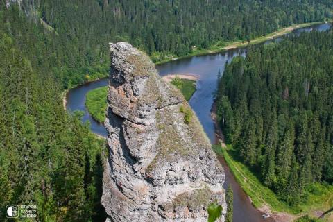 Усьвинские столбы Пермского края