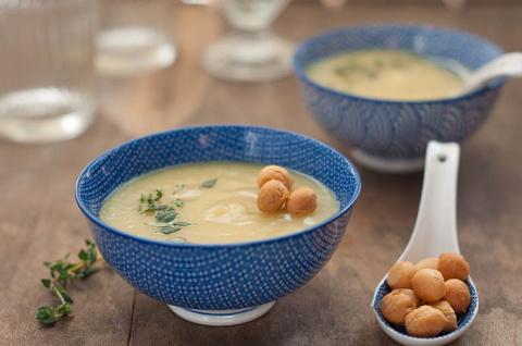 Нежный, теплый и уютный... картофельный суп!
