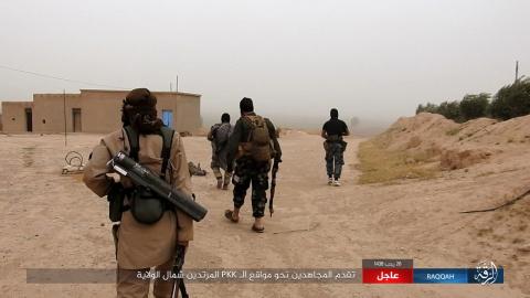 Бойня в Ракке: Боевики ИГИЛ …