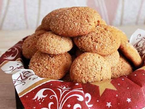 мягкое имбирное печенье