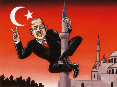 Началось наказание Эрдогана
