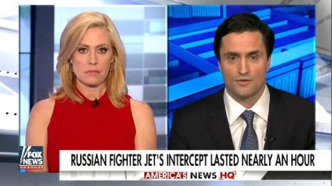 Fox: российский самолёт «спровоцировал» Пентагон послать новые корабли в Чёрное море