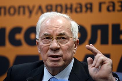 Азаров в Москве объявил о создании Комитета спасения Украины