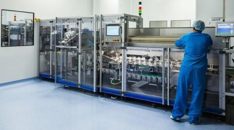 В Самарской области официально запустили новое фармацевтическое производство