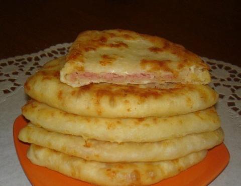 Лепешки сырные за 5 минут