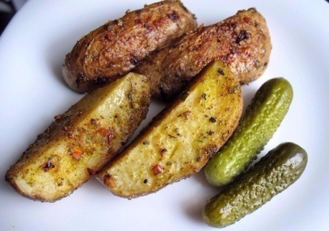 Как приготовить картофель по-деревенски