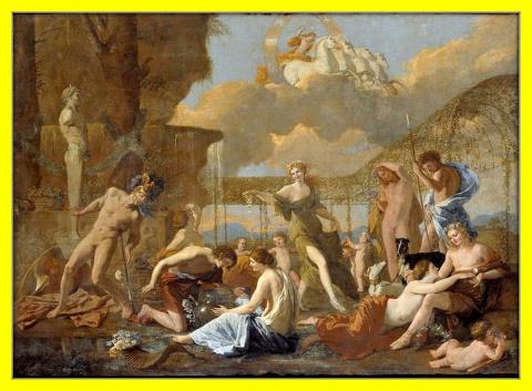Царство Флоры.Ок.1630г.