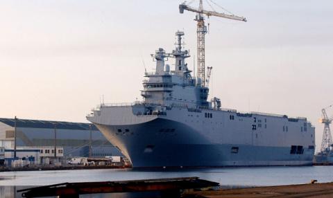 Командующий ВМС Франции: нам не нужны построенные для РФ «Мистрали»