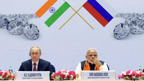 Посольство России: ЕС не надо вмешиваться в отношения России и Индии
