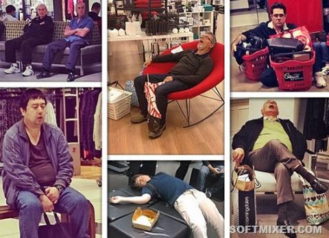 Почему мужчин не стоит брать на шопинг