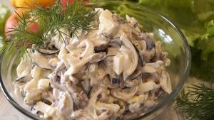 Шикарный салат из Баклажанов…