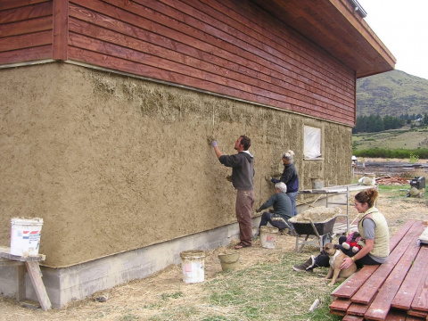 Удешевляем ремонт: глиняная штукатурка своими руками