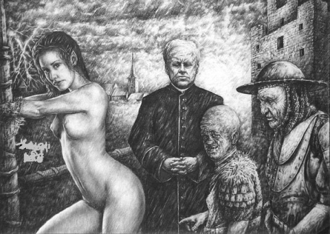 Средневековье и дикий чад кутежа