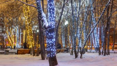Снегопад очистил московский …