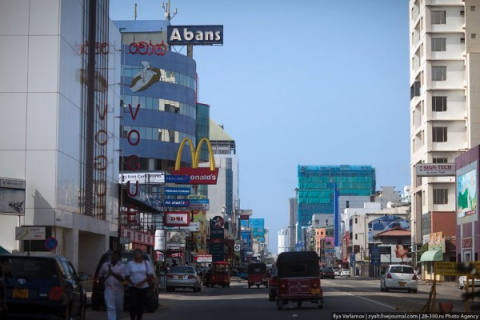 Коломбо в Шри-Ланке