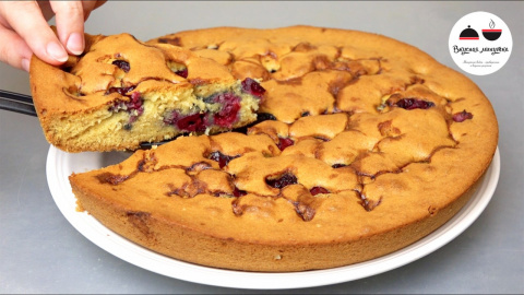 ВКУСНЕНЬКИЙ вишневый пирог и…