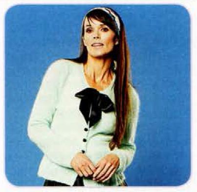 Вязанный жакет в стиле 60-х