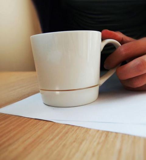 Правильная чашка под кофе