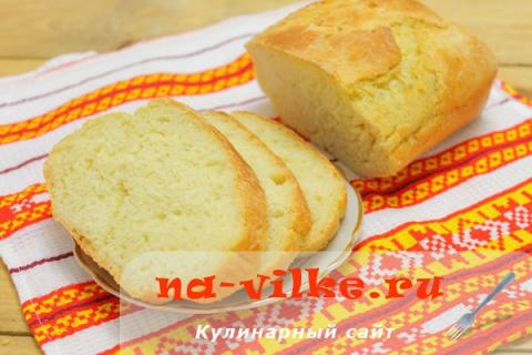 Картофельный хлеб в духовке