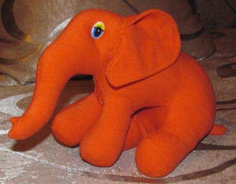 Рыжий слоник
