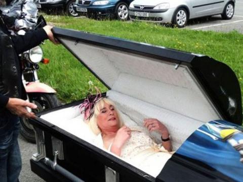 В Британии 58-летняя невеста…