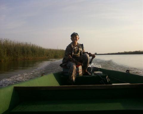 Удачная рыбалка (вот и бери с собой сына!)...