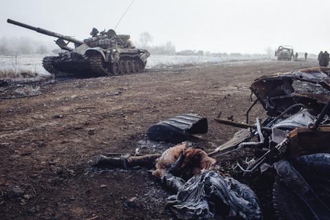 Украинцы бежали из-под Дебал…