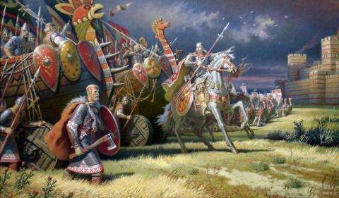 Чем воевали древние славяне? Самые распространенные виды оружия