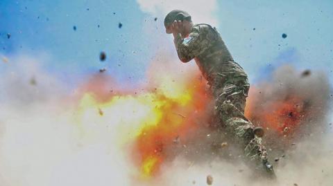 Американская военнослужащая запечатлела момент своей гибели в Афганистане